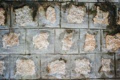 Textuur van oude steenmuur in Azië Royalty-vrije Stock Fotografie