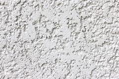 Textuur van oude witte muurachtergrond stock foto's
