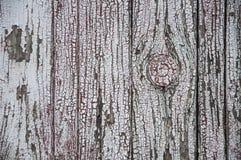 Textuur van oude witte verf op zwarte raad Royalty-vrije Stock Foto