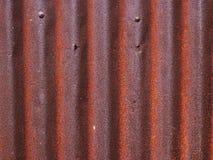 Textuur van oude zinkoppervlakte gegalvaniseerde roest, Roestige zinkachtergrond royalty-vrije stock foto's