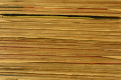 Textuur van pagina's Royalty-vrije Stock Afbeelding