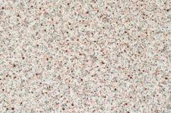 Textuur van plastiek met imitatie van witte steen met grijze en roze opneming royalty-vrije stock foto's