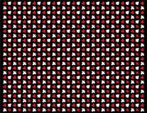 Textuur van pookpictogrammen op zwarte achtergrond stock afbeeldingen