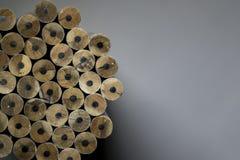 Textuur van potloden Royalty-vrije Stock Foto's
