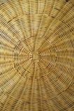 Textuur van rieten mand Stock Foto