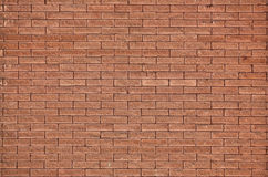 Textuur van rode bakstenen muur Royalty-vrije Stock Afbeelding