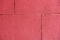 Textuur van rode brickwall Stock Afbeelding