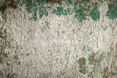 Textuur van roestig metaal en cement Royalty-vrije Stock Foto