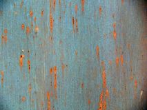 Textuur van roestige ijzeroppervlakte Royalty-vrije Stock Foto's