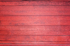 Textuur van rood hout. Stock Foto's