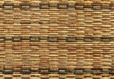 Textuur van rotanweefsel Stock Fotografie
