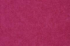 Textuur van roze stof Stock Afbeeldingen
