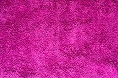 Textuur van roze synthetisch bont stock foto's