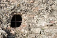 Textuur van ruïnes, het kasteel Royalty-vrije Stock Foto