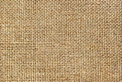 Textuur van ruwe doek, jute Stock Fotografie