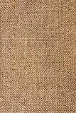Textuur van ruwe doek, jute Stock Foto