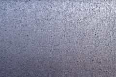 Textuur van samengeperst gesmolten en gehamerd en gedeukt metaal stock afbeelding