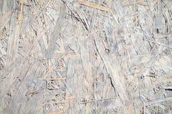 Textuur van samengeperst hout Stock Afbeeldingen