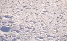 Textuur van sneeuw Stock Afbeeldingen