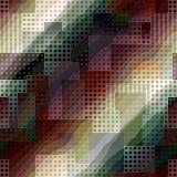 Textuur van stad met golven Royalty-vrije Stock Fotografie