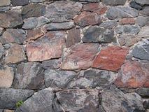 Textuur van steenmuur voor achtergrond Stock Fotografie