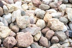 Textuur van steenstapel stock fotografie