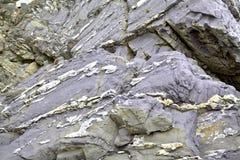Textuur van stenen en rotsen Stock Foto