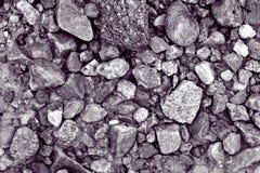 textuur van stenen op het strand Royalty-vrije Stock Foto's