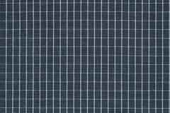 Textuur van stof met een geruite patroon donkere kleur Stock Afbeeldingen