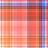 Textuur van stoffentextiel met traditioneel vierkant patroon Stock Foto's