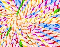 Textuur van stro stock illustratie