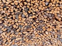 Textuur van stukken van hout wordt gemaakt dat Royalty-vrije Stock Afbeeldingen