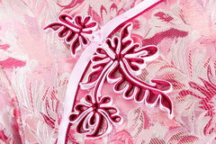 Textuur van traditionele Chinese kleding Royalty-vrije Stock Fotografie