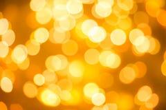 Textuur van vage achtergrond van Kerstmislichten royalty-vrije stock afbeelding