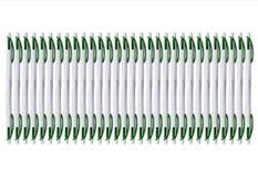Textuur van vele pennen op de witte achtergrond royalty-vrije stock foto