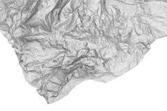 Textuur van verfrommeld document Stock Afbeeldingen