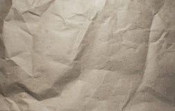 Textuur van verfrommeld document royalty-vrije stock fotografie