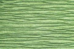 Textuur van verfrommeld gerimpeld decoratief Groenboek stock illustratie
