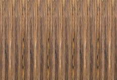 Textuur van vernisje bruine houten verticale strepen Stock Afbeelding