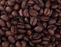 Textuur van verse koffiebonen Royalty-vrije Stock Foto