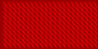 Textuur van volume de realistische vectordriehoeken, rood geometrisch patroon, ontwerpachtergrond voor u projecten royalty-vrije illustratie