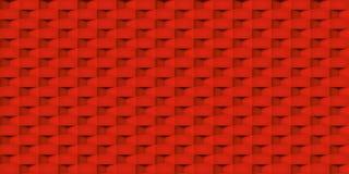 Textuur van volume de realistische vectorkubussen, rood geometrisch naadloos tegelspatroon, ontwerpachtergrond voor u projecten royalty-vrije illustratie
