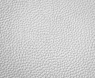 Textuur van wit leer Royalty-vrije Stock Afbeelding