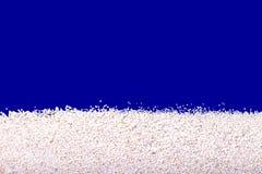 Textuur van wit zand van het tropische eiland Stock Fotografie