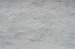 Textuur van witte gepleisterde muren Royalty-vrije Stock Foto's