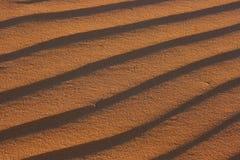 Textuur van zand Stock Afbeeldingen
