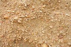 Textuur van zand Stock Afbeelding