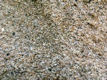 Textuur van zandkorrels stock afbeelding