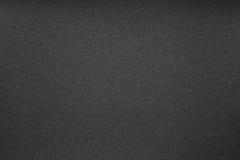 Textuur van zwart schuurpapier Royalty-vrije Stock Afbeeldingen