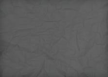 textuur van zwart verfrommeld document stock fotografie